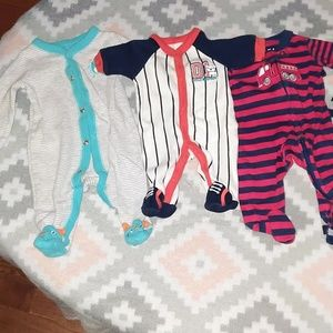 Six Little Boys Newborn Sleepers